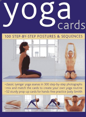 9780754825302: Yoga Cards: 100 Step-by-Step Postures & Sequences (in a Tin)