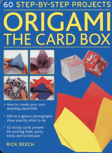 9780754825326: Origami: The Card Box: 60 Step-by-Step Projects (in a Tin Box): 1