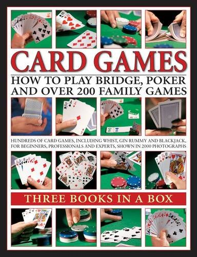 9780754825487: Card Games: How to Play Bridge, Poker and Over 200 Family Games: Three Books in a Box
