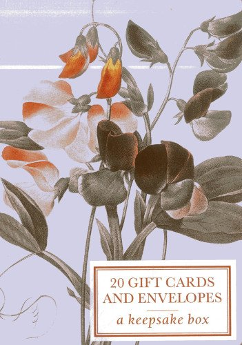 9780754826040: Tin Box of 20 Gift Cards and Envelopes: Sweetpea Redoute: A keepsake tin box of 20 high-quality beautiful fine-art gift cards and envelopes