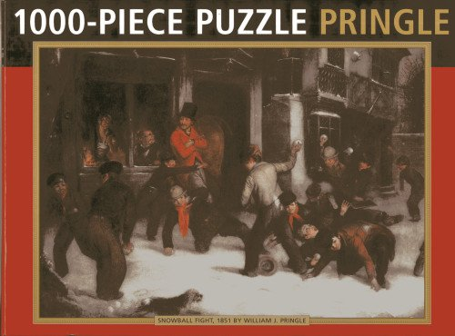 9780754827818: Pringle: 1000-Piece Puzzle: Snowball Fight, 1851, by William J. Pringle