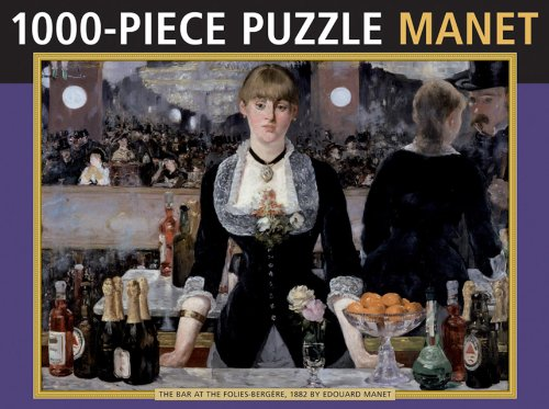 9780754828419: Manet 1000-Piece Puzzle: The Bar at the Folies-bergere