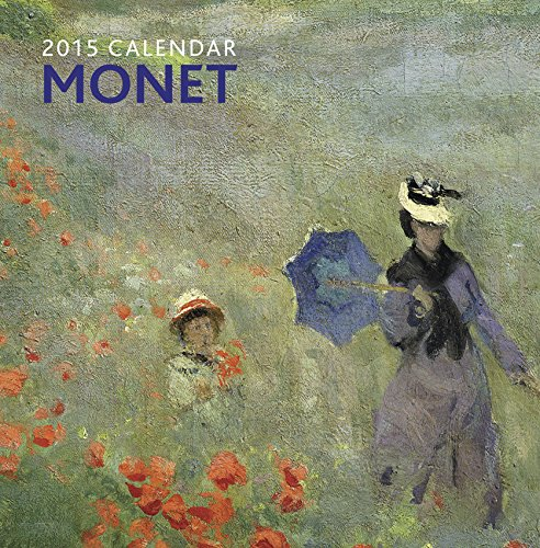 9780754829539: 2015 Calendar: Monet: 12-Month Calendar Featuring Wonderful Photography And Space In Write In Key Events