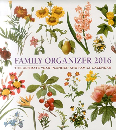 9780754831075: 2016 Calendar: Family Organizer: The Ultimate Year Planner And Family Calendar