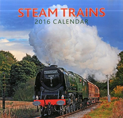 9780754831129: 2016 Calendar: Steam Trains (Calendars 2016)