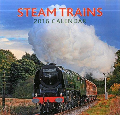 9780754831129: 2016 Calendar: Steam Trains