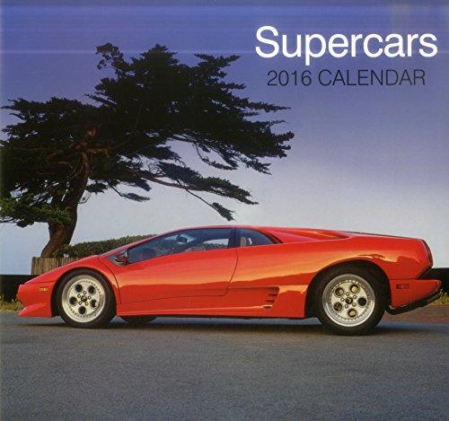 9780754831198: Supercars 2016 Calendar