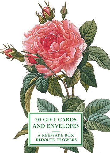 9780754831808: Cards: Redoute Flowers (Rose): A Keepsake Box Of Cards