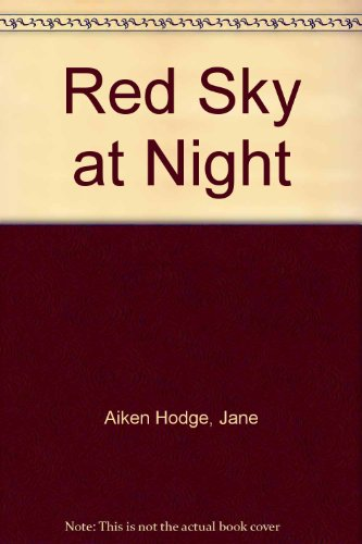 9780755109678: Red Sky at Night