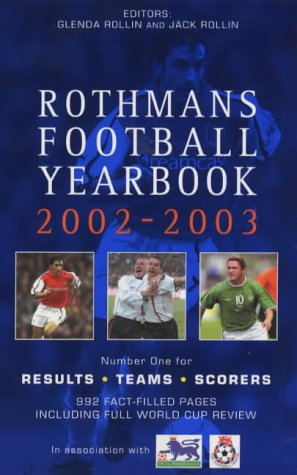 9780755311002: Rothmans Football Yearbook 2002-03