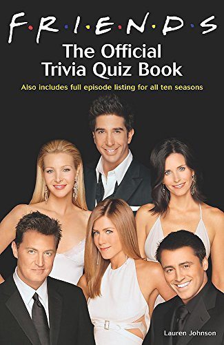 """9780755313235: """"Friends"""": The Official Trivia Book"""
