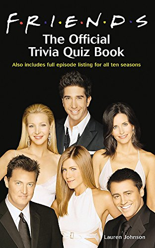"""9780755313426: """"Friends"""": The Official Trivia Quiz Book"""