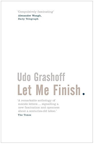 Let Me Finish: Udo Grashoff