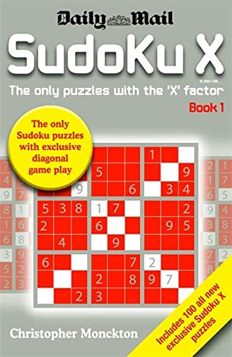 9780755315017: Sudoku X Book 1: The Only Puzzle with the 'X' Factor: Bk. 1