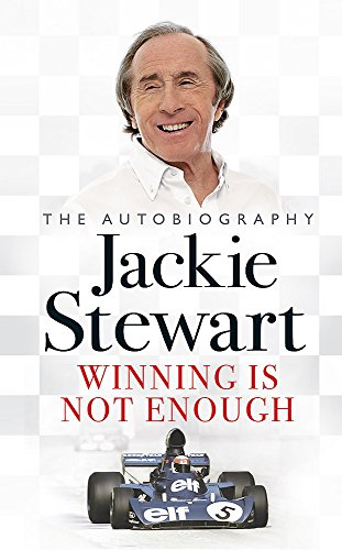 Jackie Stewart. The Autobiography. Winning is Not Enough (SIGNED) with DVD