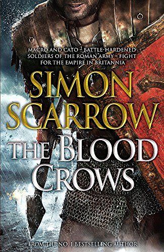 THE BLOOD CROWS - A MACRO AND CATO NOVEL - SIGNED FIRST EDITION FIRST PRINTING.