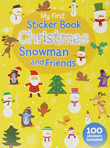 9780755404643: My First Christmas Sticker Book - Snowman and Friends (Christmas 100 Sticker Activity Book)