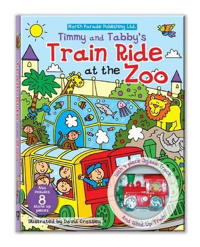 9780755405145: Track Jigsaw Book - Timmy and Tabby's Train Ride at the Zoo