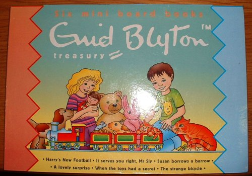 9780755409709: Six mini board books Enid Blytone Treasury (six mini board books Enid Blyton - Treasury)