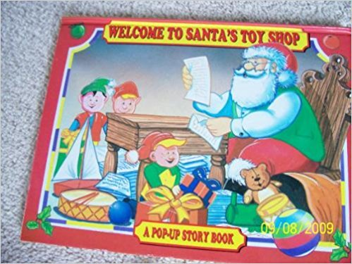 9780755415342: Welcome to Santa's Toy Shop (A Pop-Up Story Book)