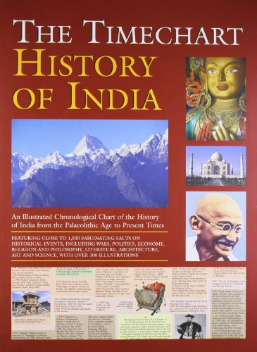 9780755451623: History of India, The Timechart by Robert Frederick Ltd. (2005-05-03)