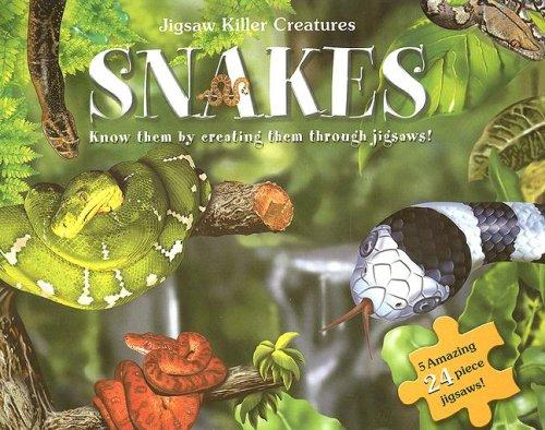 9780755454112: Jigsaw Killer Creatures Snakes