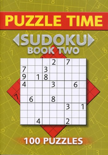 Puzzle Time Sudoku: Book Two (100 Puzzles) [Paperback]