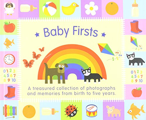 9780755494248: Baby Firsts Rainbow Design Baby Record Album