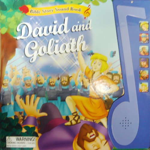 9780755499915: David and Goliath. Bible story sound book.