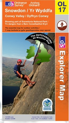 9780755818709: Snowdon ~ Explorer OL17 (The Outstanding All Weather Map)