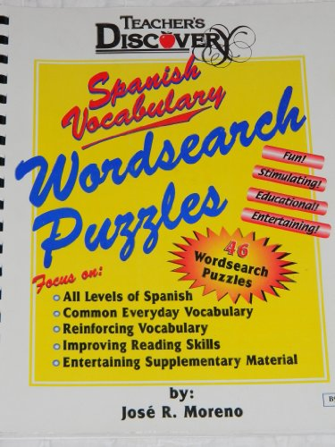 9780756000042: Teacher's Discovery Spanish Vocabulary Wordsearch Puzzles, 46 Puzzles