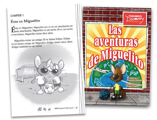 9780756011536: Las Aventuras de Miguelito Spanish Reader