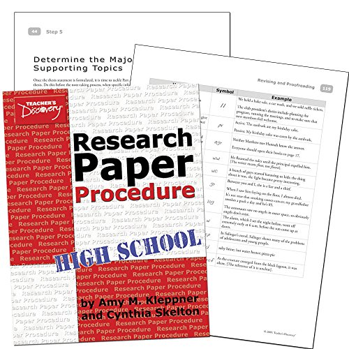 procedure of publishing a research paper Find out more about the publishing process and royal society of chemistry   research into multiple papers the manuscript contains redundant information or.