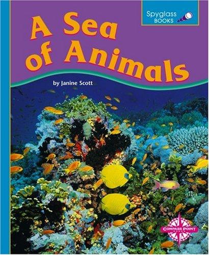 A Sea of Animals (Spyglass Books: Life Science): Scott, Janine