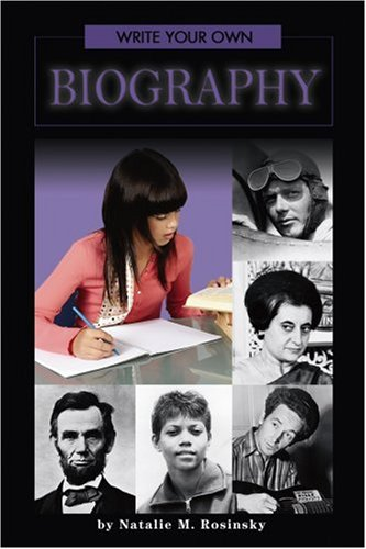 9780756533663: Write Your Own Biography (Write Your Own Series)