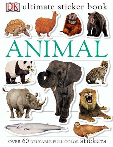 Ultimate Sticker Book: Animals: DK Publishing