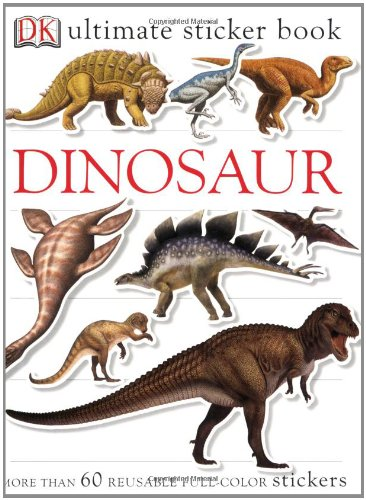 9780756602352: Ultimate Sticker Book: Dinosaur (Ultimate Sticker Books)
