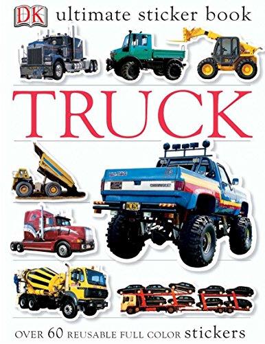 9780756602390: Ultimate Sticker Book: Truck (Ultimate Sticker Books)