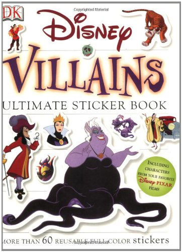 9780756605773: Disney Villains (DK Ultimate Sticker Books)