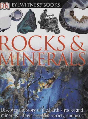 9780756607197: Eyewitness Books Rocks & Minerals
