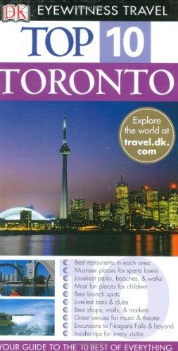 9780756609030: Top 10 Toronto (Eyewitness Top 10 Travel Guide)