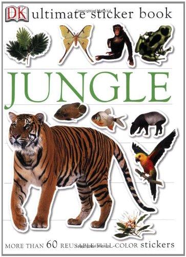 9780756609764: Jungle (Ultimate Sticker Books)