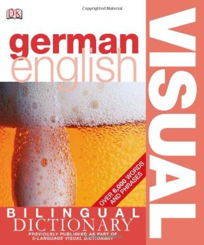 9780756612955: DK Bilingual Visual Dictionary German-English
