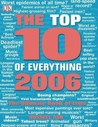 9780756613228: Top Ten of Everything 2006