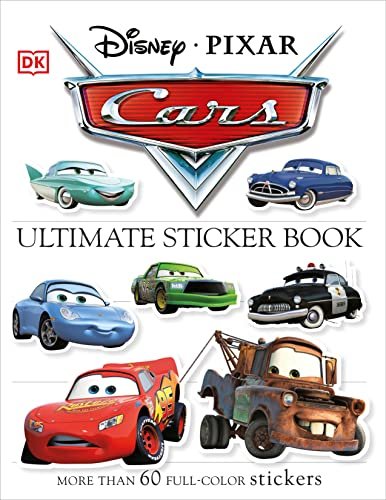 9780756614546: Cars [With More Than 60 Reusable Stickers] (Ultimate Sticker Books)