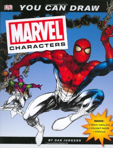 9780756614706: You Can Draw: Marvel Characters