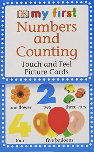 9780756615178: My First Touch and Feel Picture Cards: Numbers and Counting (My 1st T&F Picture Cards)