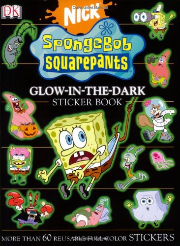 9780756615581: Spongebob Squarepants Glow-in-the-dark (Ultimate Sticker Book)
