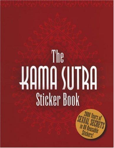 Kama Sutra Sticker Book: Cooke, Jane