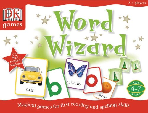 9780756617653: Word Wizard: Magical Games for First Reading and Spelling Skills (Dk Games)